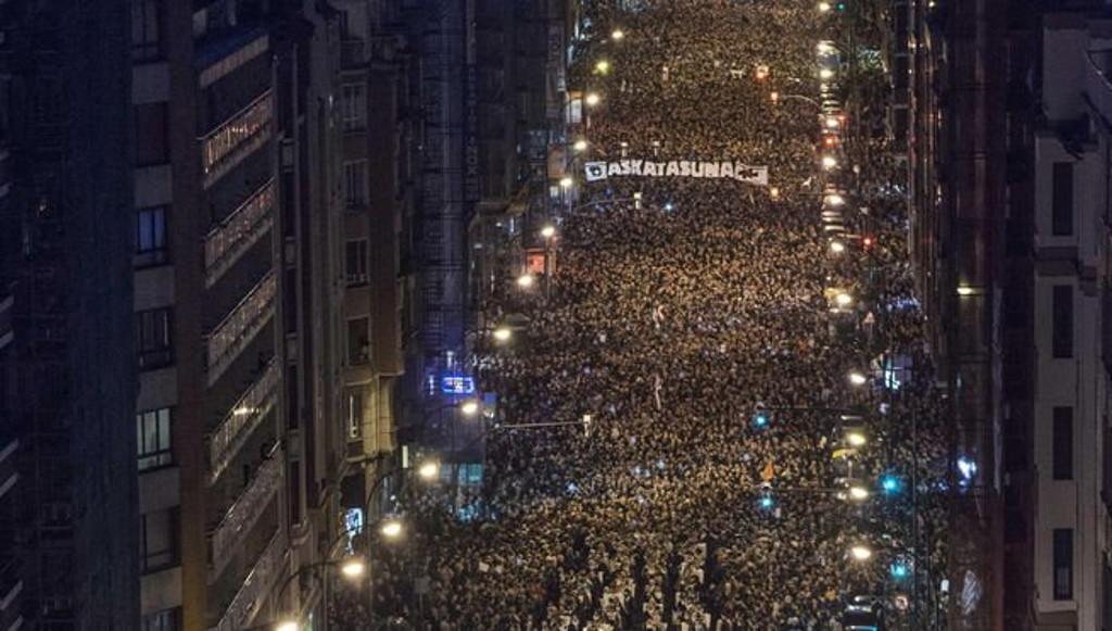70000 a Bilbao per i prigionieri politici indipendentisti