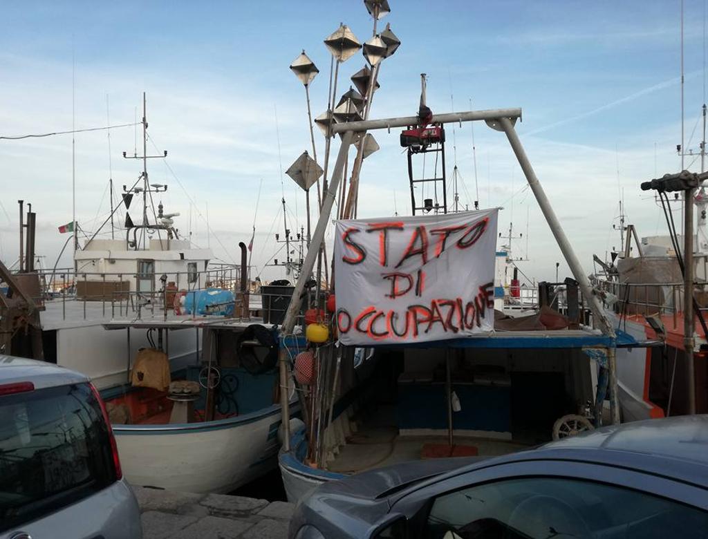 Porticello contro le multe di Bruxelles ai pescatori