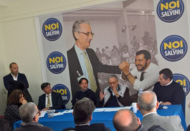 attaguile con salvini