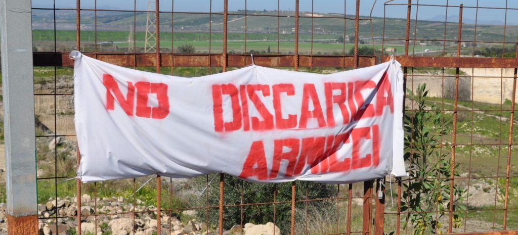 Presìdi contro la discarica di Armicci in territorio di Lentini