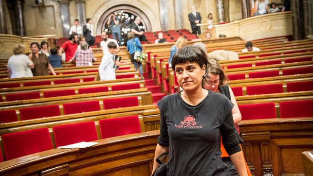 Anna Gabriel a Palermo il 29 marzo