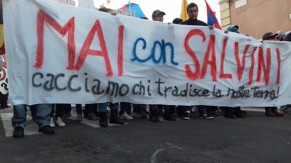 Salvini, Salvini / va' a cogghiri luppini.