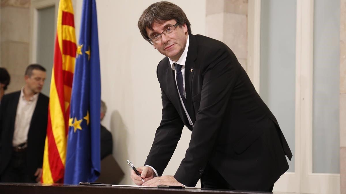 Lettera del presidente della Generalitat al Sr. Rajoy.