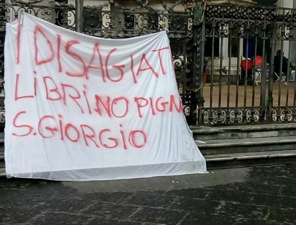 Catania: aprite la casa di Dio.