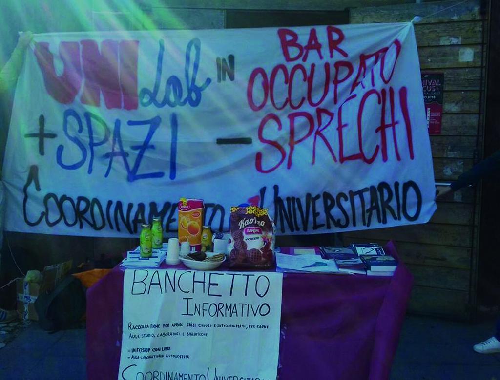 Nuova occupazione all'università di Catania. Nasce UNILAB!