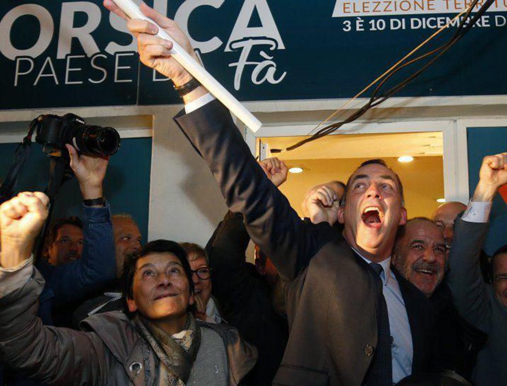 Vittoria degli autonomisti corsi al primo turno delle elezioni.