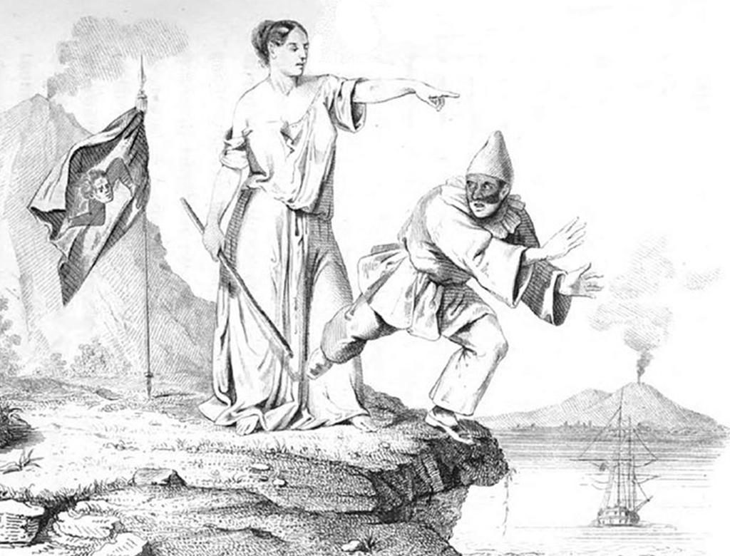 Ricordando la rivolta del 1848.