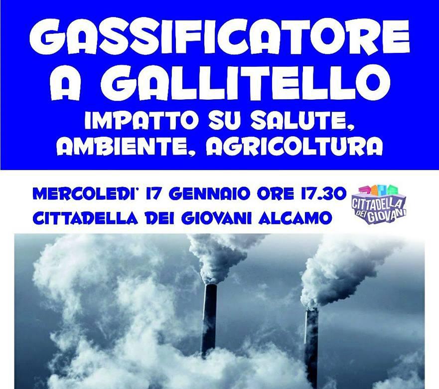 No Gassificatore Calatafimi Segesta: i cittadini protestano.