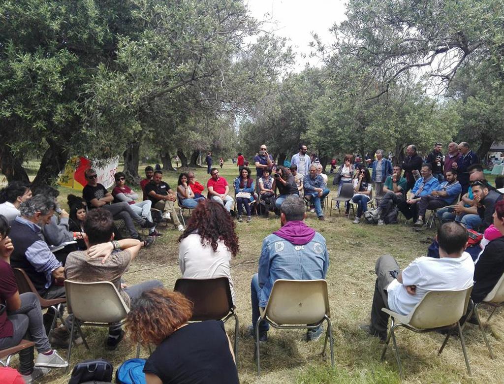 """Dal 25 aprile di Milazzo – Assemblea """"Le Resistenze sociali nei movimenti di difesa dei territori siciliani""""."""