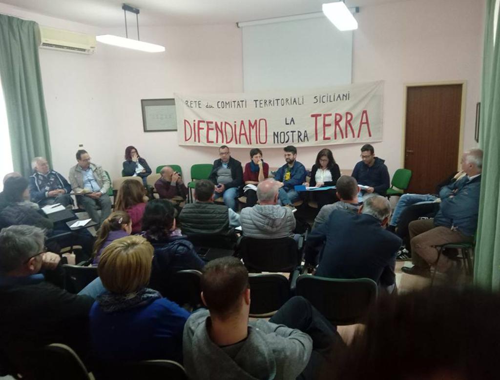 Lentini, assemblea della Rete dei comitati territoriali: ruolo e prospettive.
