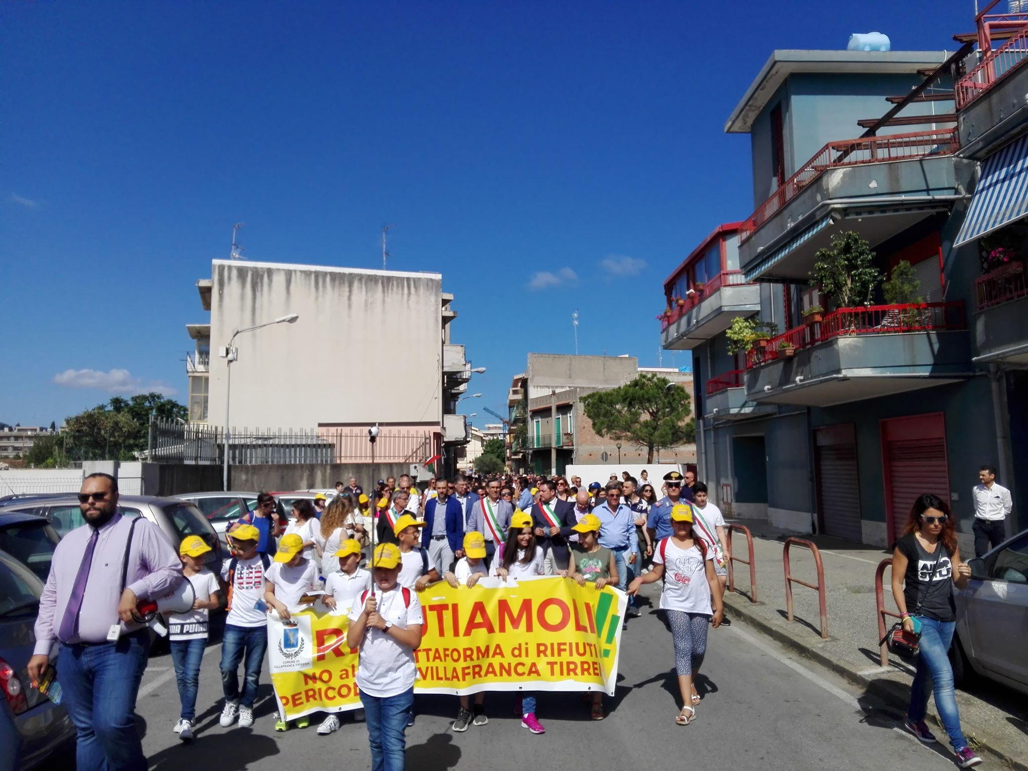 Villafranca (ME): NO alla piattaforma rifiuti pericolosi.