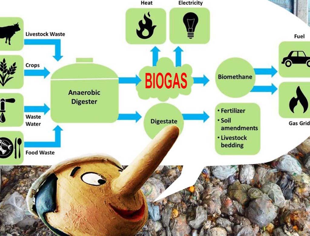 No alla centrale di Biogas!