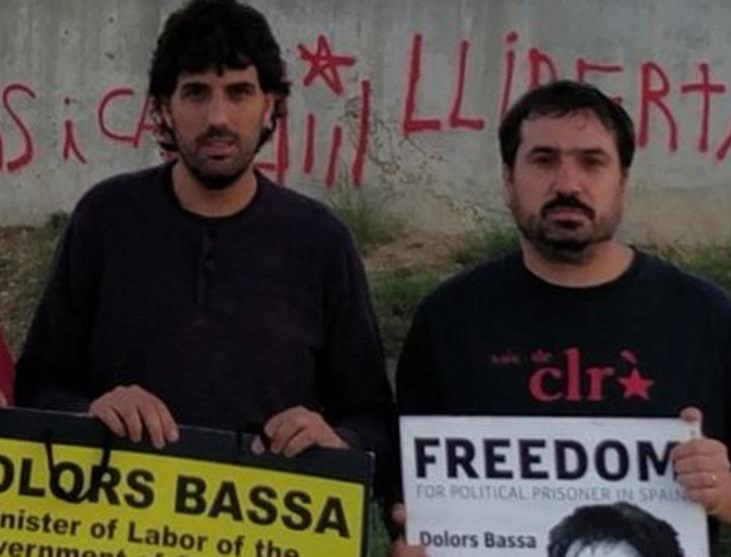 Subito liberi gli arrestati in Catalogna!