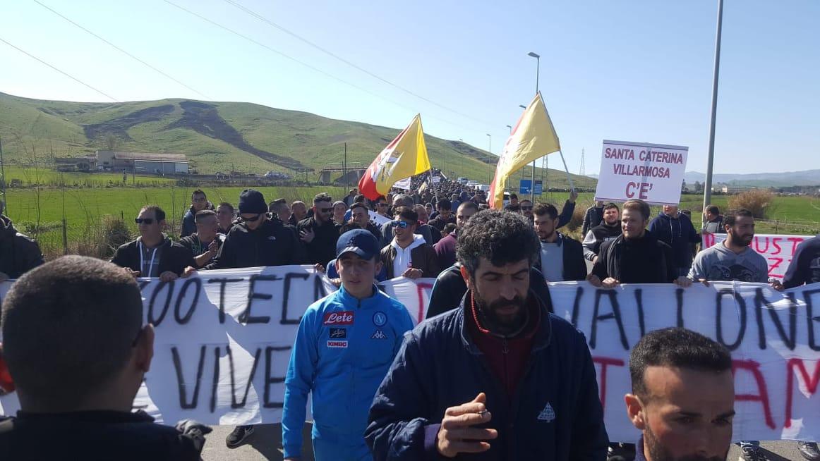 Seconda giornata di protesta dei pastori siciliani.