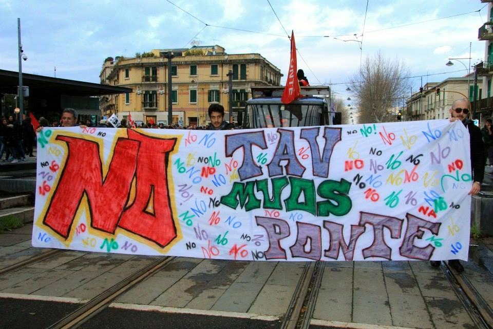 Assemblea NoPonte verso la marcia del 23 marzo a Roma
