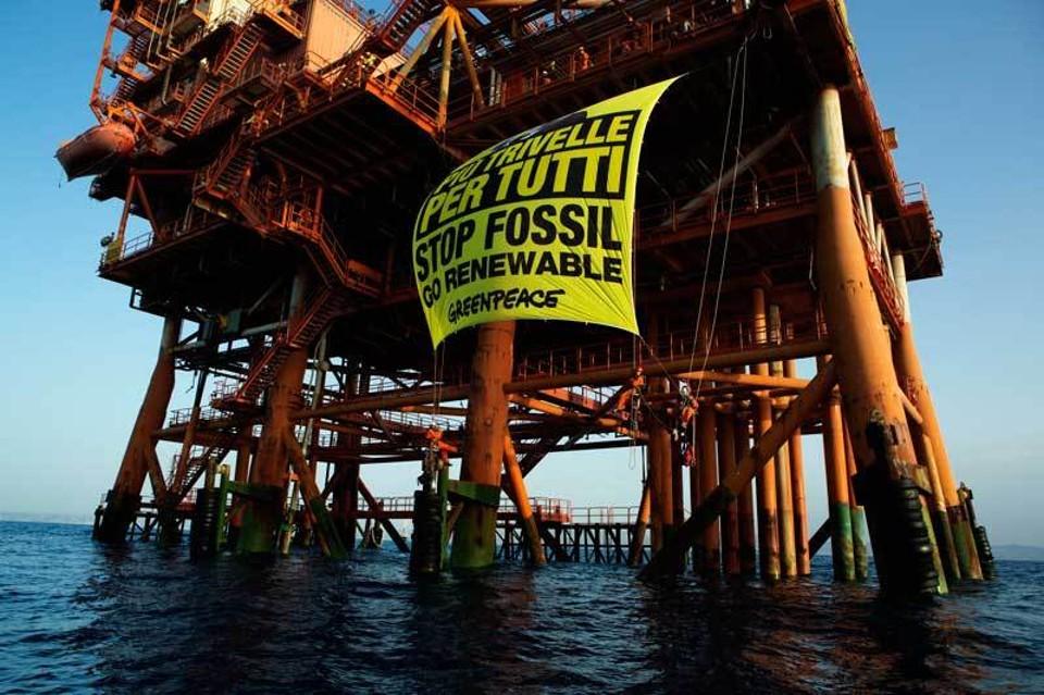 Licata: greenpeace, comitati e comune per fermare le trivelle.