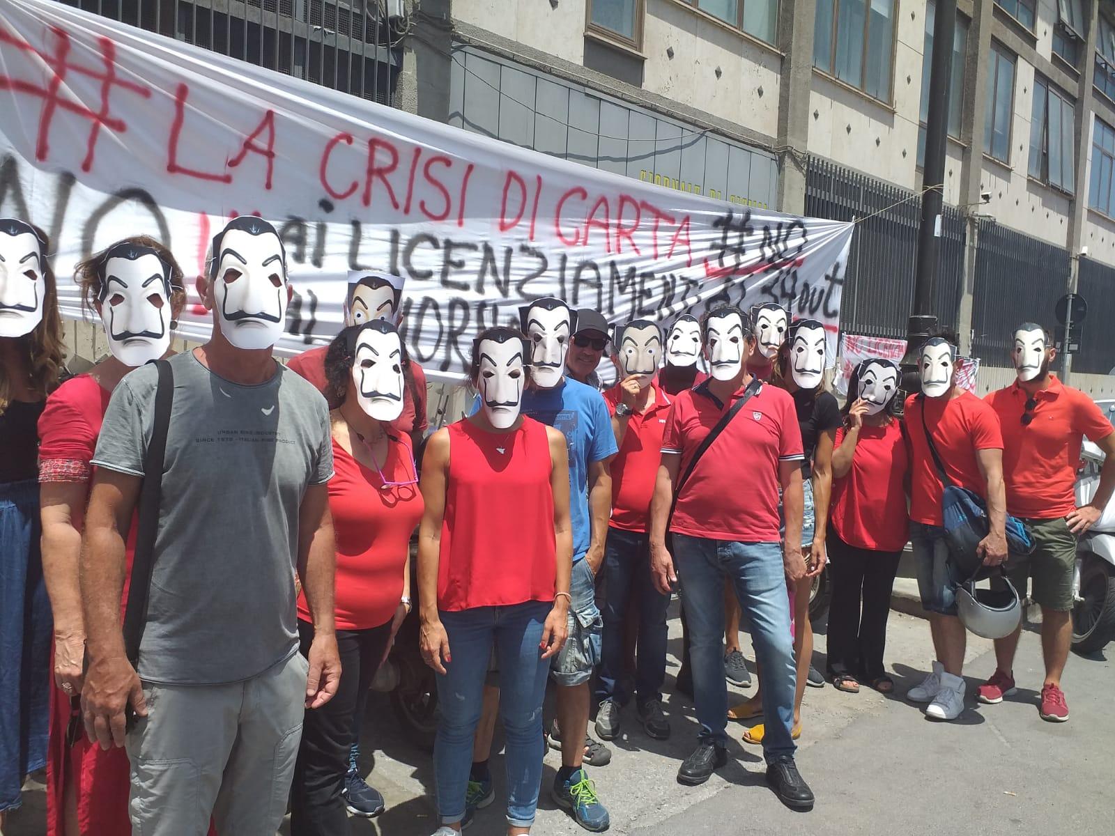 """La """"Crisi di Carta"""" del Giornale di Sicilia: parlano le lavoratrici e i lavoratori"""