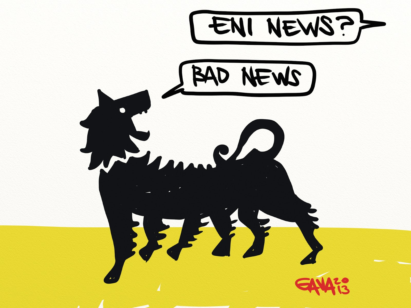 eni, bad news