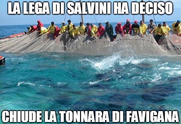 La Lega contro la pesca siciliana: difendiamo la tonnara di Favignana