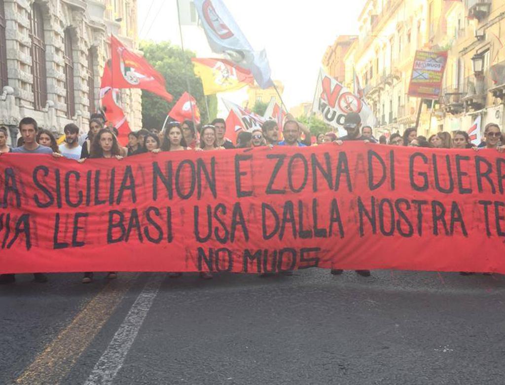 Catania: torna in piazza il movimento No Muos.