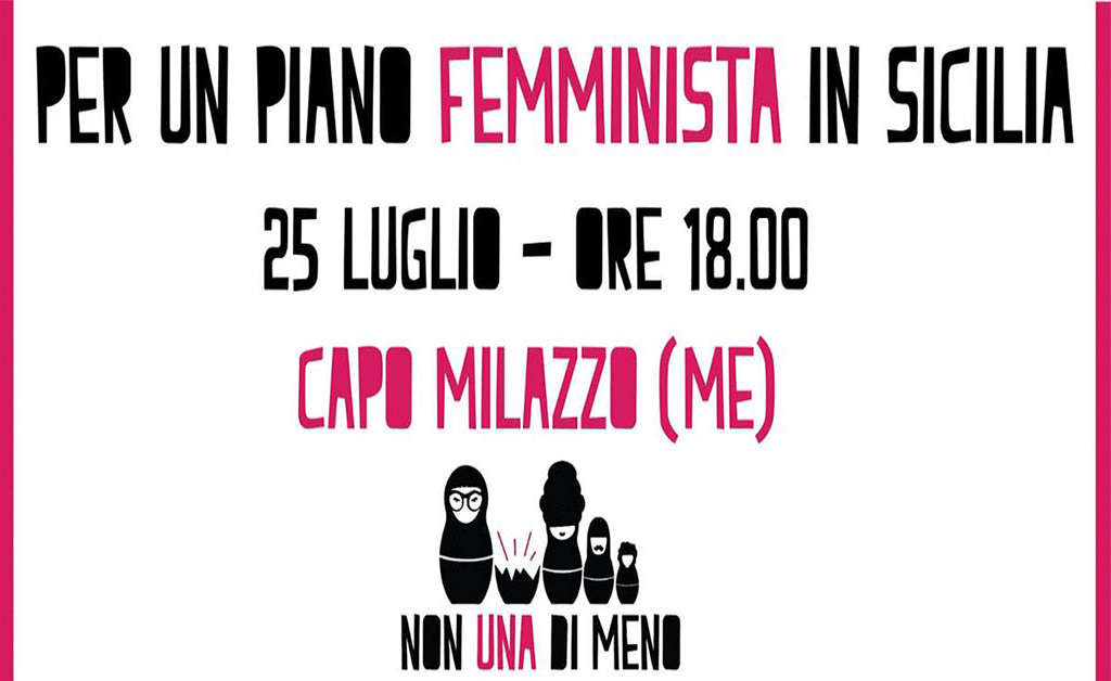 Milazzo, 25 luglio: per un piano femminista in Sicilia