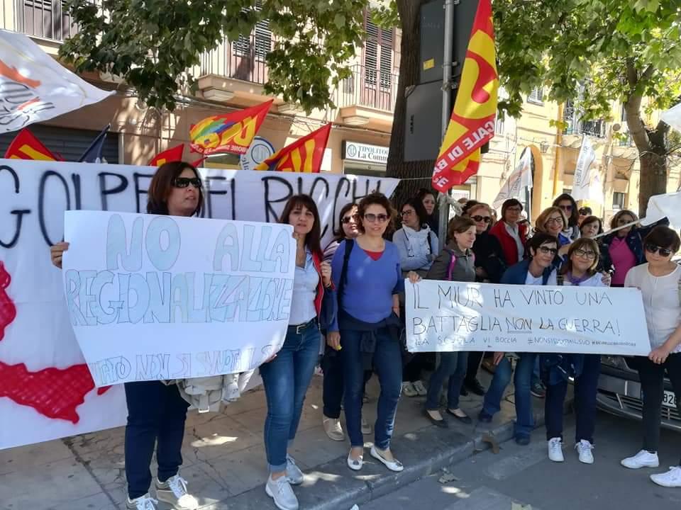 5 Luglio, Catania: presidio contro la mobilità 19/20