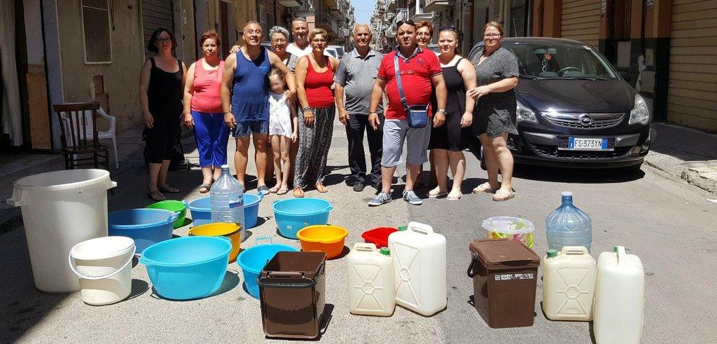 A Gela è crisi idrica ma bollette arrivano a 500 euro
