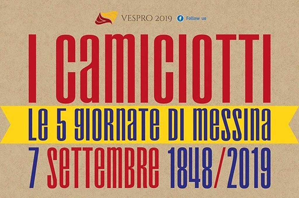 I Camiciotti e le 5 giornate di Messina