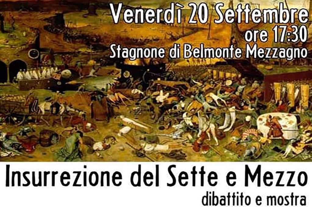 A Belmonte si ricorda l'insurrezione del Sette e Mezzo