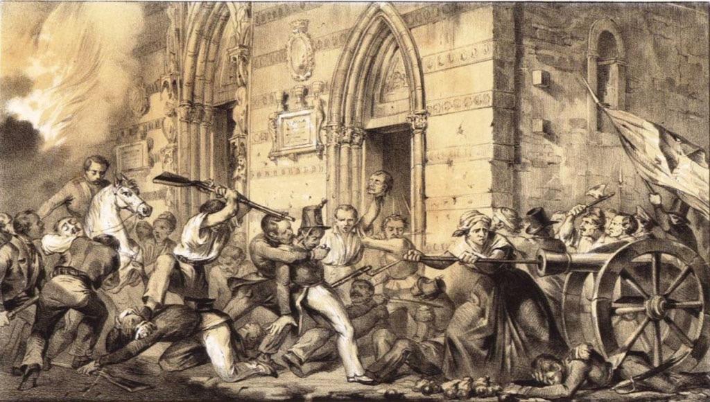 L'insurrezione dell'1 settembre 1847