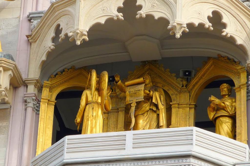 Il Campanile del Duomo di Messina. La parte mediana