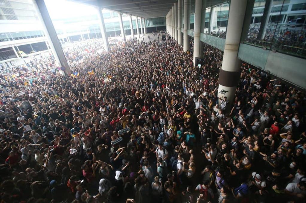 I catalani rispondono alla sentenza di Madrid