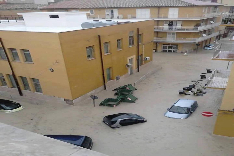 Ancora emergenza pioggia a Licata. Il Sindaco: «noi lasciati soli»