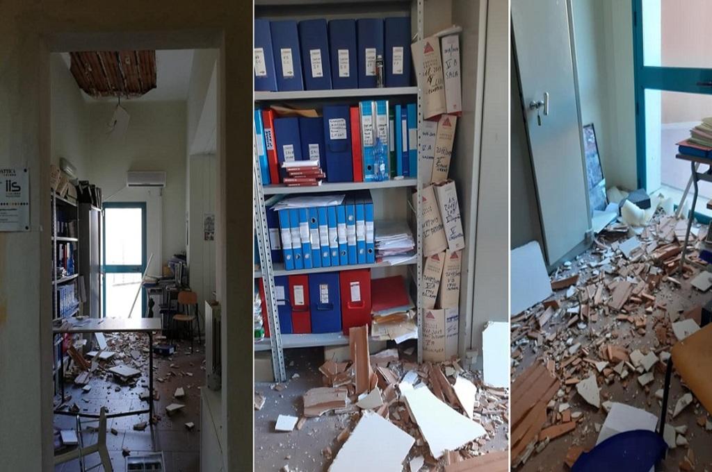 Scuole in Sicilia: a Palazzolo Acreide secondo crollo in un mese