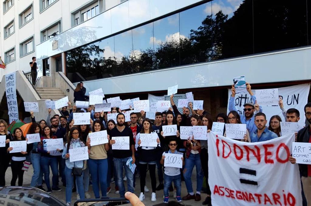 Palermo: studenti universitari in presidio per il posto letto