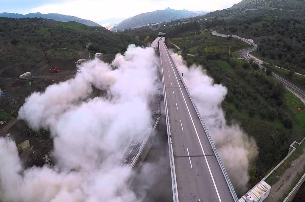 Ponte Himera: ricostruzione al 40%, consegna rinviata ad aprile 2020