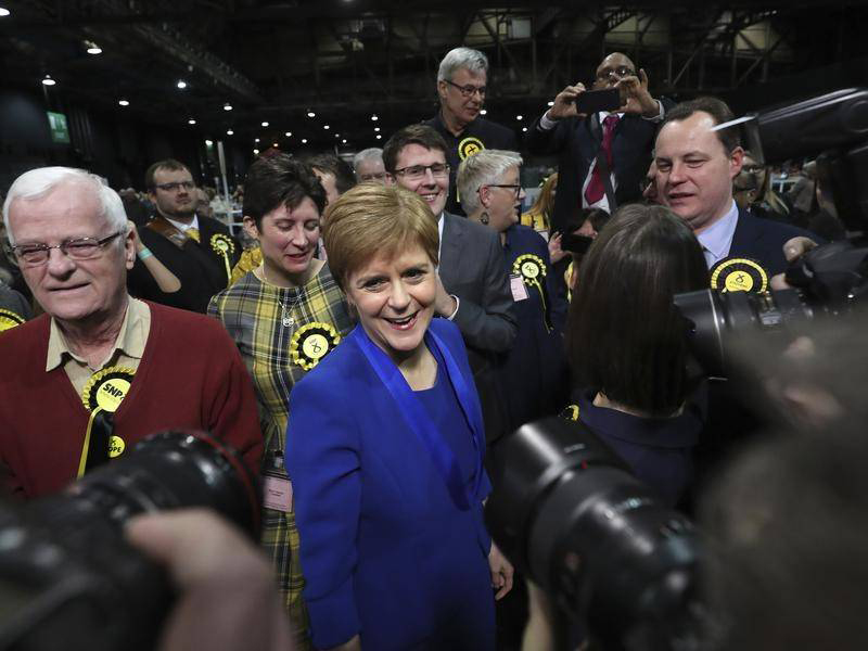 Vittoria schiacciante dello Scottish National Party.