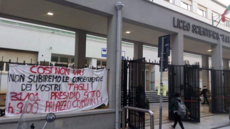 Palermo: scuole al freddo e strutture fatiscenti, protestano gli studenti