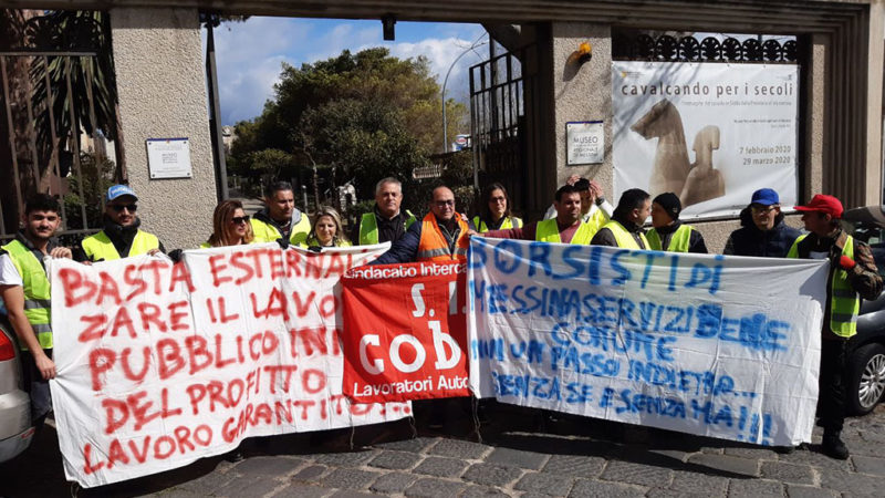 Messina, Disoccupati  Organizzati: «le risorse ci sono, fateci lavorare»