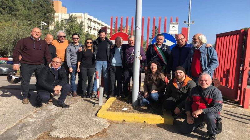 Sp24 chiusa: il sindaco di Caltavuturo si incatena davanti l'Assessorato