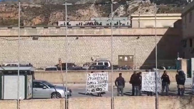 Trasferiti i detenuti che iniziarono la protesta di Trapani
