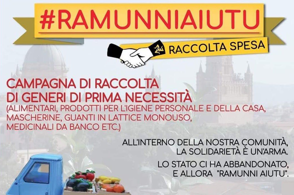 Palermo: se lo Stato ci abbandona #RAMUNNIAIUTU