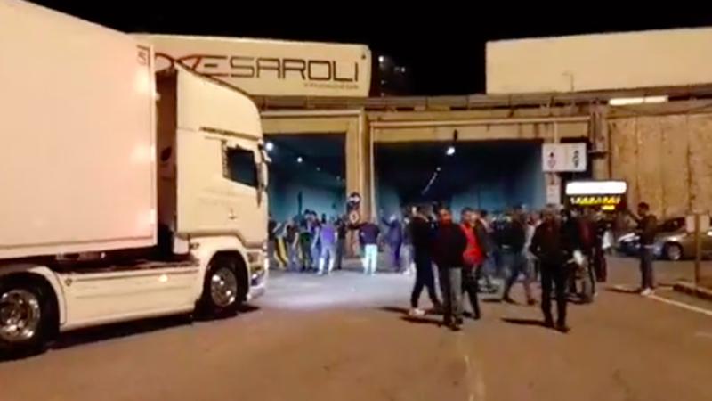 Messina. Autotrasportatori bloccano il porto di Tremestieri