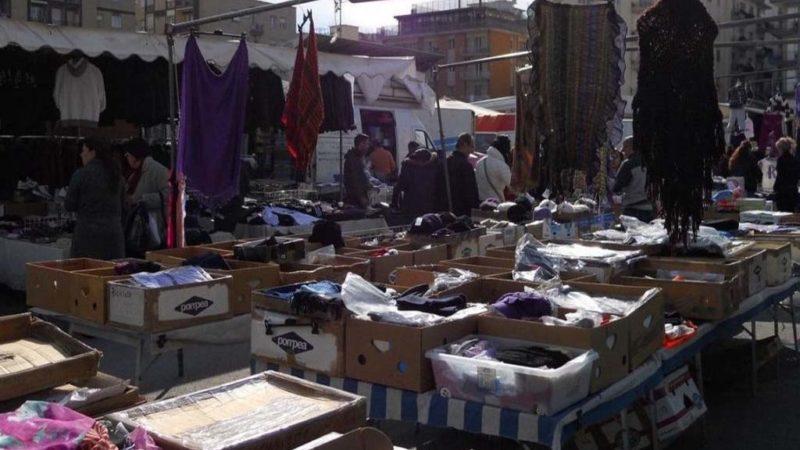 Mercatini rionali: a Palermo i commercianti in sciopero della fame