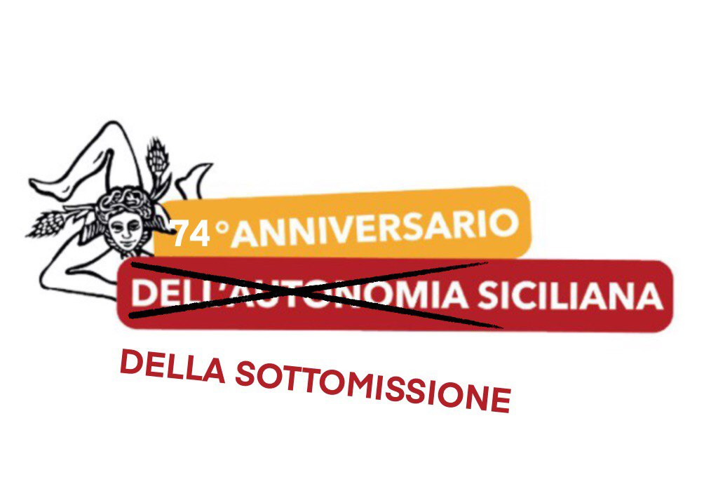 Autonomia: per la Sicilia niente da festeggiare