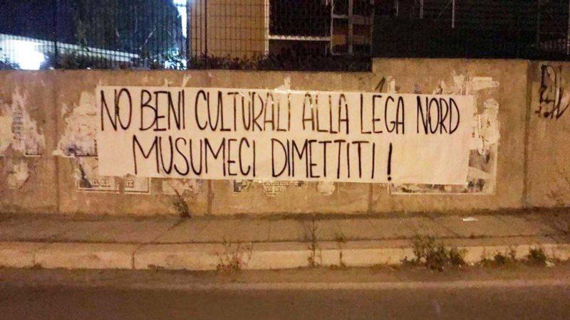 Palermo: striscioni contro Musumeci. Il 2 giugno manifestazione
