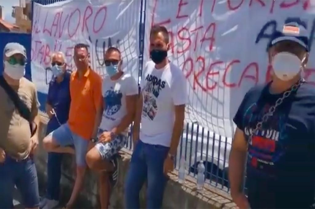 Messina: ex letturisti AMAM in protesta