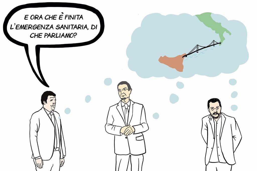 Ponte sullo Stretto? Un bancomat per partiti italiani e imprese del Nord