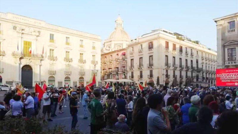 Anche Catania in piazza contro la Lega e Musumeci