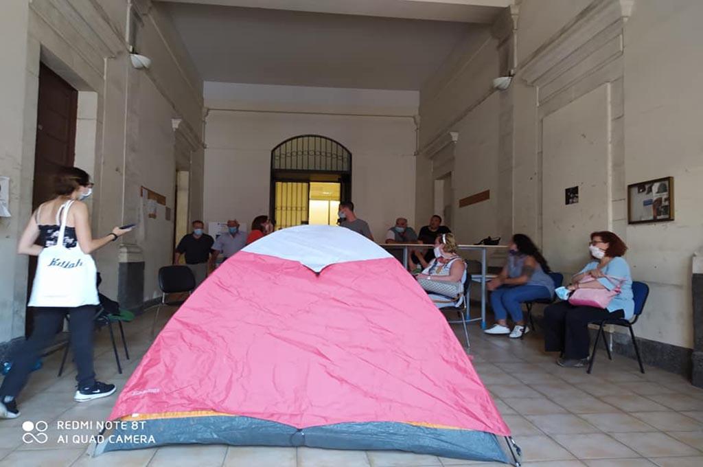 Catania, occupazione assessorato: denunce ai militanti